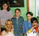 С мамой, сыном и племянниками